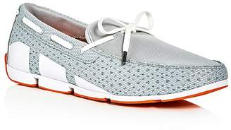 Swims Breeze Braided Lace Mesh Loafers $129 thestylecure.com
