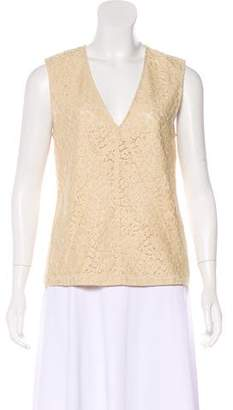 Belstaff Sleeveless Lace Top