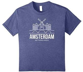 Amsterdam Netherlands Holland Souvenir T Shirt