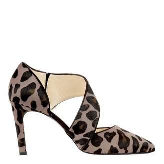 31e826a42617ae Mink Leopard Print Erin Heeled Shoes