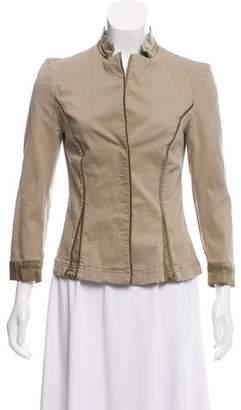 Alberta Ferretti Casual Mock Neck Jacket w/ Tags