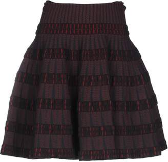 Alaia Knee length skirts - Item 35336857GA