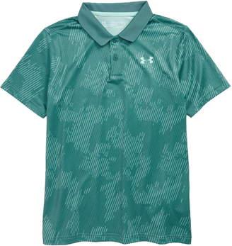 354d21560 Under Armour Green Boys' Polos - ShopStyle