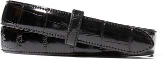 Ralph Lauren Alligator Belt Strap
