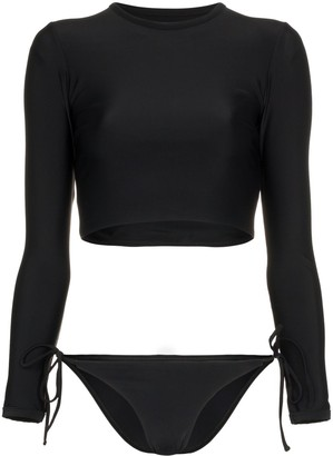 Matteau The Long Sleeve Sun Tee bikini