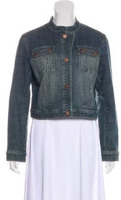 MICHAEL Michael Kors Denim Button-Up Jacket