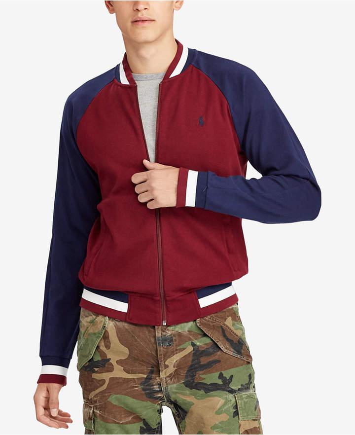 Polo Ralph Lauren Men's Big & Tall Cotton Bomber Jacket