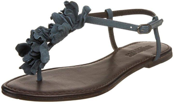 Nara Shoes Women's 59320 T-Strap Thong Sandal