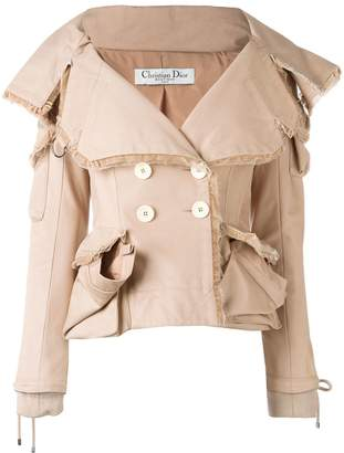 Christian Dior Pre-Owned multi pocket jacket