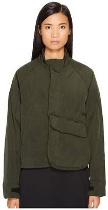 Yohji Yamamoto Padded Short Jacket Women's Coat
