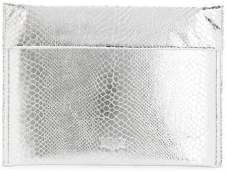 MM6 MAISON MARGIELA scale folded top clutch