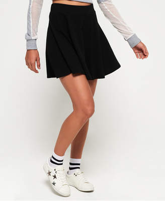 Superdry Sophia Textured Skater Skirt