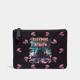 Coach Disney X Sleeping Beauty Turnlock Pouch 26
