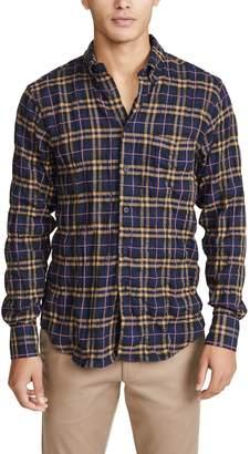 Naked & Famous Denim Easy Shirt In Folk Flannel