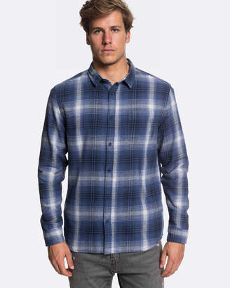 Quiksilver Mens Fatherfly Long Sleeve Shirt