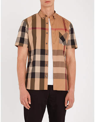 Burberry Thornaby regular-fit cotton-blend shirt