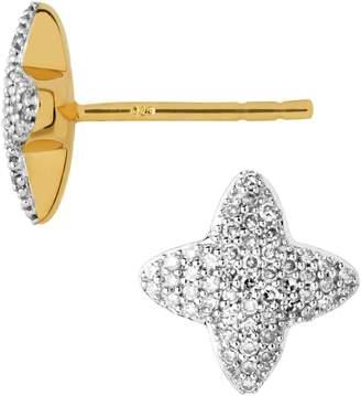 Links of London Yellow Gold and Diamond Splendour Stud Earrings