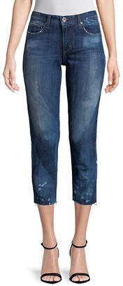 Joe's Jeans Frayed Cropped Pant