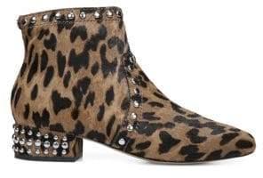 Sam Edelman Lorin Leopard-Print Ankle Boots
