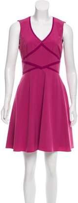 Zac Posen Z Spoke by Silk Sleeveless Mini Dress
