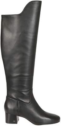 Michael Kors Logo Plaque Boots