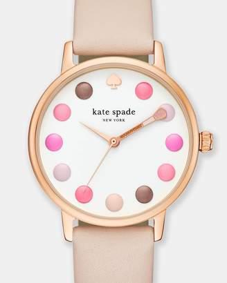 Kate Spade Metro Light Brown Light Brown Analogue Watch