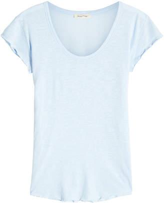 American Vintage U Neck Cotton T-Shirt