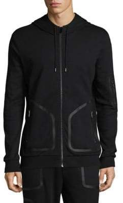 HUGO Zip-Up Cotton Jacket