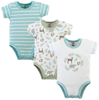 Baby Vision Touched By Nature Organic Cotton Bodysuits, 3-Pack, 0-24 Months