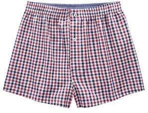 Mango Man MANGO MAN Check cotton boxer shorts