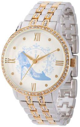 Disney Cinderella Womens Two Tone Bracelet Watch-W002145