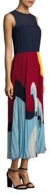 RED ValentinoRED Valentino Beach Pleated Midi Dress