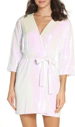 Paige Hayley Wedding Day Sparkle Robe