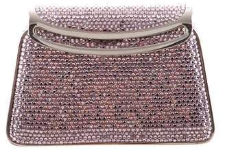 Judith Leiber Crystal Structured Mini Evening Clutch