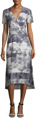 Zero Maria Cornejo Print Silk Dress