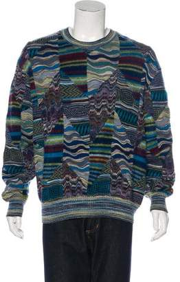 Missoni Wool-Blend Embroidered Sweater