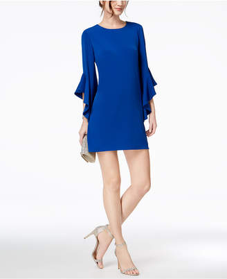 Laundry by Shelli Segal Bell-Sleeve Shift Dress