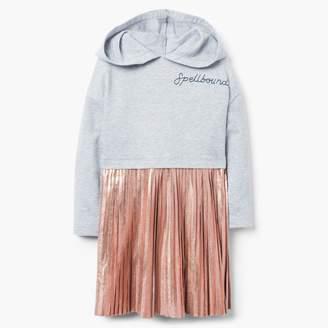 Gymboree Hooded Pleat Dress