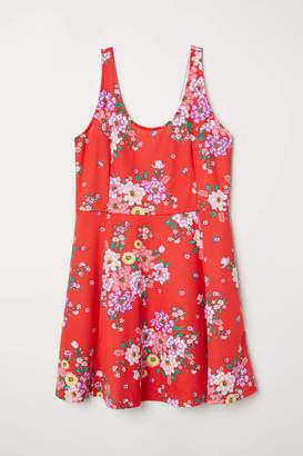 H&M H & M+ Jersey Dress - Red/floral - Women