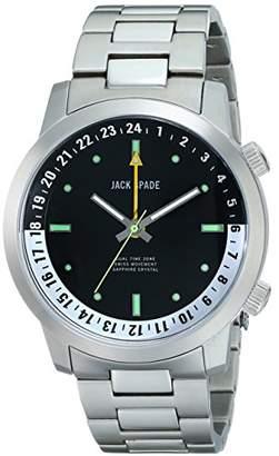 Jack Spade Men's WURU0044B Clarkson Analog Display Swiss Quartz Watch