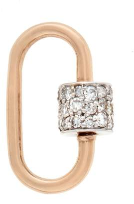 Marla Aaron Jewels By Grace Lock Charm - Rose Gold