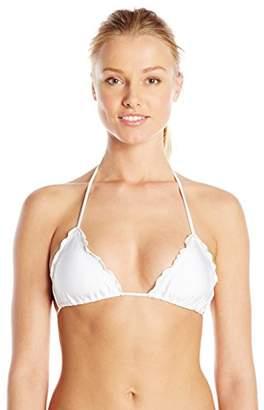 Luli Fama Women's Cosita Buena Wavy Triangle Bikini Top