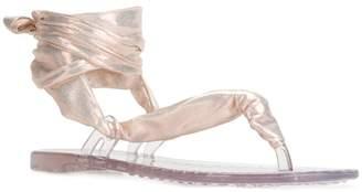 Casadei ankle tie sandals