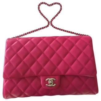 Chanel Timeless/Classique Pink Leather Handbag