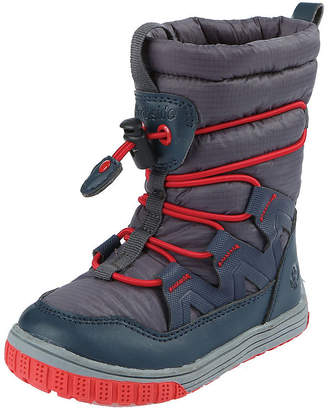 Northside Toddler Boys Toboggan Water Resistant Fleece Lined Snow Boots Pull-on