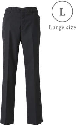 NEWYORKER women's 【秋新作】【ストレッチ】スタイリッシュテーパードパンツ(無地)/大きめサイズ