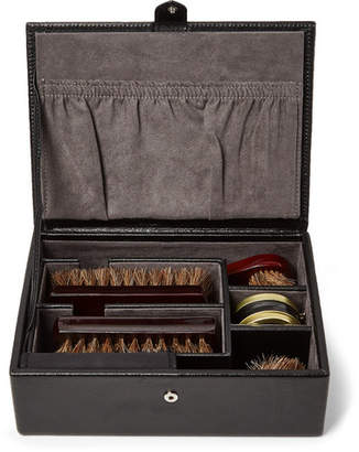 Wolf Blake Shoeshine Kit - Men - Black