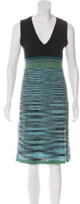 Missoni Wool-Blend Sleeveless Midi Dress