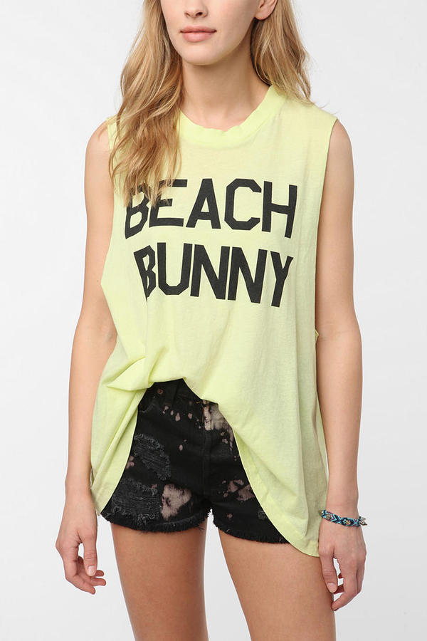 Wildfox Couture Beach Babe Muscle Tee