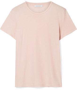 Ninety Percent - Jenna Organic Cotton-jersey T-shirt - Blush
